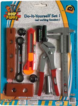 Набор инструментов Fun Toy Набор инструментов 44410 набор садовых инструментов libman 283346 дерево пластик