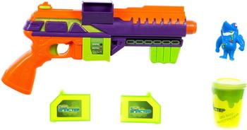 Бластер 1 Toy Слайм ''Атака монстров'' (в компл. Бластер мишень слизь 120 г) Т15830 бластер 1 toy слайм призрачный патруль т15832