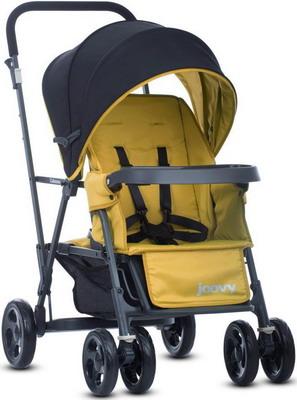 Коляска Joovy CABOOSE Graphite желтый (для двоих детей) 8144