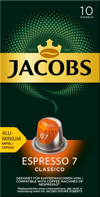 цена Кофе капсульный Jacobs Espresso 7 Classico онлайн в 2017 году