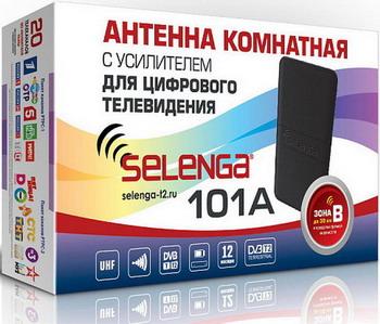 Фото - ТВ антенна Selenga 101A комнатная dvb t2 антенна selenga 101a