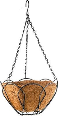 Фото - Подвесное кашпо Palisad 69002 подвесное кашпо с орнаментом 30 см с кокосовой корзиной palisad