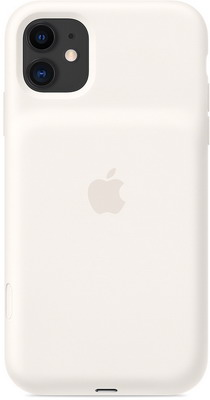 Чехол-аккумулятор Apple для iPhone 11 Smart Battery Case with Wireless Charging - White MWVJ2ZM/A