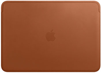 Чехол Apple Leather Sleeve for 13-inch MacBook Pro – Saddle Brown MRQM2ZM/A