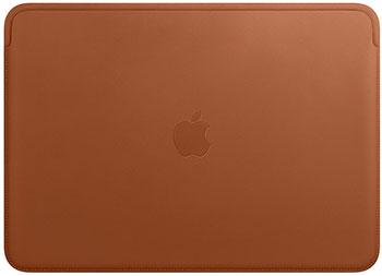 Чехол Apple Leather Sleeve for 13-inch MacBook Pro – Saddle Brown MRQM2ZM/A apple leather sleeve для macbook pro 16 черный