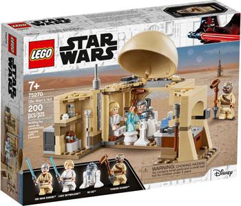 Конструктор Lego Star Wars TM Хижина Оби-Вана Кеноби 75270