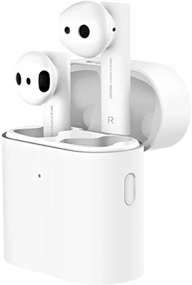 Вставные наушники Xiaomi AirDots Pro 2 (Mi True Wireless Bluetooth Air 2) белые TWSEJ06WM (ZBW4493GL)
