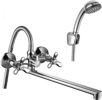 Смеситель для ванной комнаты Rossinka Q02-80 для ванны универсальный смеситель rossinka silvermix q02 80