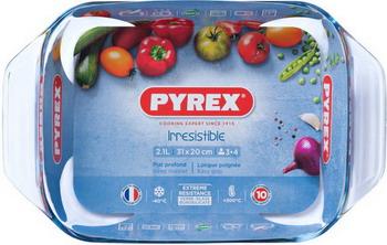 Форма для выпечки Pyrex Irresistible 31х20см прямоугольная форма для запекания pyrex irresistible 35 23 см 2 9 л прямоугольная