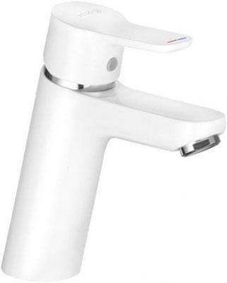 Смеситель для ванной комнаты Kludi PURE&EASY на умывальник 70  без донного клапана  белый  арт. 370289165