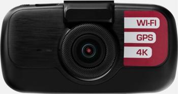 Автомобильный видеорегистратор Prestigio RoadRunner 605GPS черный автомобильный видеорегистратор prestigio roadrunner cube fhd 30fps 1 5 2 mp camera 140° 150 mah wifi g sensor red black metal plastic a3pcdvrr530wr