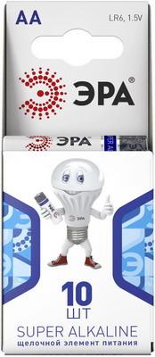 Батарейка ЭРА LR6-10BL компакт