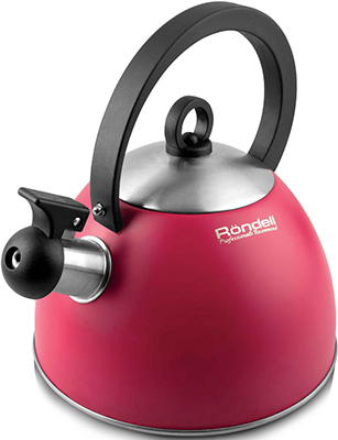 Чайник Rondell 361-RDS Geste чайник rondell geste 361rds 2 л нержавеющая сталь красный