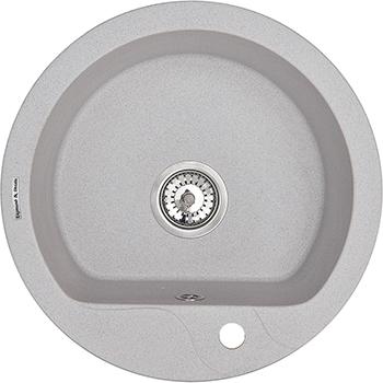 Кухонная мойка Zigmund amp Shtain KREIS 505 F млечный путь кухонная мойка zigmund amp shtain kreis 505 f черный базальт
