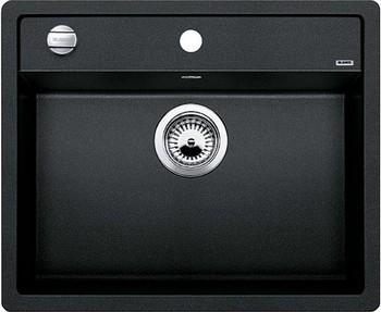 Кухонная мойка BLANCO DALAGO 6 SILGRANIT антрацит с клапаном-автоматом кухонная мойка blanco dalago 45 f silgranit кофе с клапаном автоматом