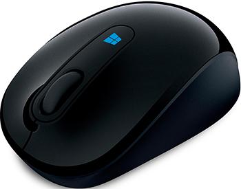Мышь Microsoft 2Sculpt Mobile Mouse Win7/8 Black (43 U-00004)