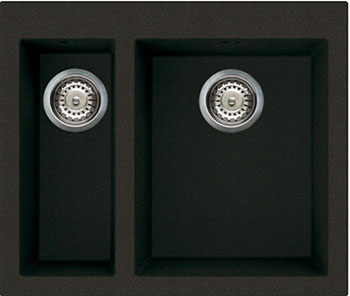 цена на Кухонная мойка Omoikiri Bosen 59-2-BL Tetogranit/черный (4993149)