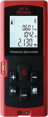 Дальномер лазерный Ресанта ДЛ-30 61/10/519 лазерный дальномер ресанта дл 30 [61 10 519]