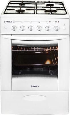 Комбинированная плита Reex CGE-540 eс Wh газовая плита reex cge 540 ecbk