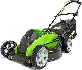 Колесная газонокосилка Greenworks 40 V G-max G 40 LM 45 без аккумулятора и зарядного устройства 2500107