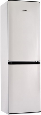 Двухкамерный холодильник Позис RK FNF-174 белый с черными накладками двухкамерный холодильник позис rk 149 белый