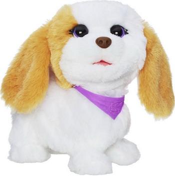 Интерактивная и развивающая игрушка Hasbro Озорные Зверята FURREAL FRIENDS Собака A 5717 E 24 FRF lori лепная фантазия озорные зверята