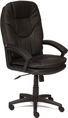 Кресло Tetchair COMFORT LT (кож/зам черный 36-6) кресло tetchair runner кож зам ткань черный жёлтый 36 6 tw27 tw 12