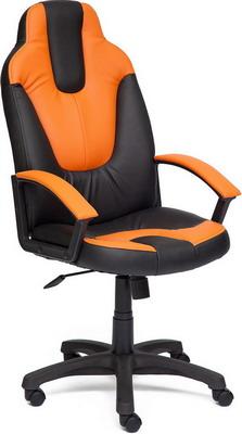 Кресло Tetchair NEO (2) (кож/зам черный/оранжевый 36-6/14-43) кресло tetchair neo 2 кож зам черный жёлтый pu 36 6 36 14
