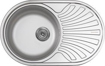 Кухонная мойка Zigmund & Shtain KREIS OV 780.8 Linen