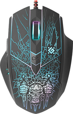 лучшая цена Мышь Defender Doom Fighter GM-260 L 52260