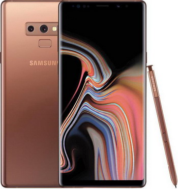 Смартфон Samsung Galaxy Note 9 512GB SM-N960F коричневый чехол для samsung galaxy note 9 sm n960f led view cover чёрный