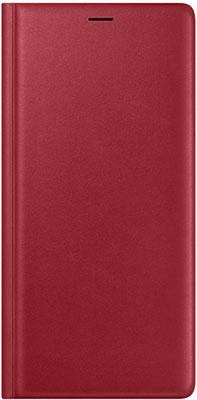 Чехол (флип-кейс) Samsung Note 9 (N 960) LeatherWallet red EF-WN 960 LREGRU