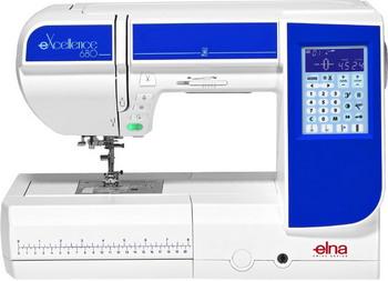 Швейная машина ELNA 680 eXcellence швейная машина elna excellence 680