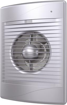 Вентилятор вытяжной с обратным клапаном DiCiTi D 125 декоративный (STANDiCiTi DARDiCiTi D 5C gray metal)