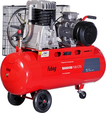 Компрессор Fubag B 6800 B/100 45681526 компрессор fubag b 2800 b 100 cm3