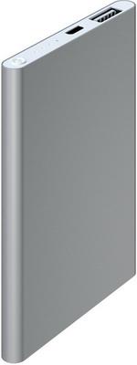 Внешний аккумулятор Red Line J01 (4000 mAh) металл серебристый red line b8000 pink gold внешний аккумулятор 8 000 mah