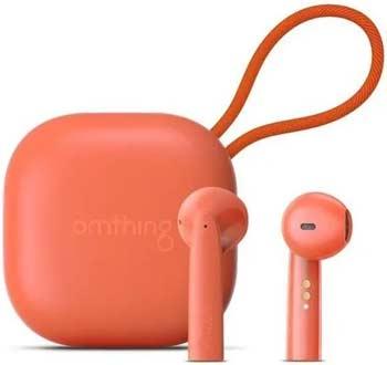 Наушники беспроводные 1More Omthing AirFree Pods True Wireless Headphones Orange (EO005-Orange) наушники беспроводные 1more omthing airfree pods true wireless headphones black eo005 black
