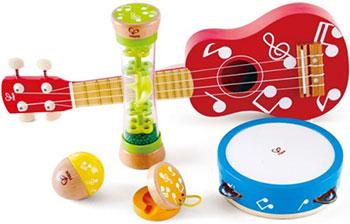 Набор музыкальных игрушек Hape E0339_HP Мини группа