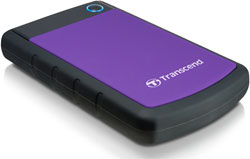 Внешний жесткий диск (HDD) Transcend 1TB StoreJet 25 H3P Anti-Shock (TS1TSJ H3P)