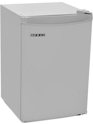 Однокамерный холодильник Bravo XR 80 S серебристый холодильник bravo xr 50 s
