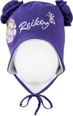 Шапочка Reike Ежевика фиолетовая р. 48 шапочка с отворотом для девочки barkito лошадки