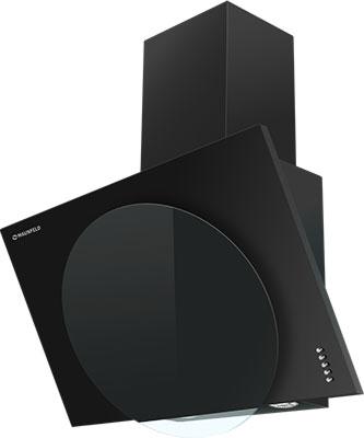 Вытяжка MAUNFELD TOWER L (PUSH) 60 черный/ЧЕРНОЕ стекло