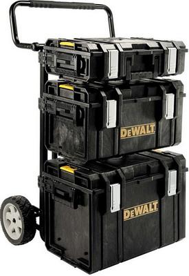Ящик с колесами DeWalt TOUGH SYSTEM 1-70-349 4 IN 1 ящик модуль для системы dewalt tough system 4 в 1 stanley 1 70 323
