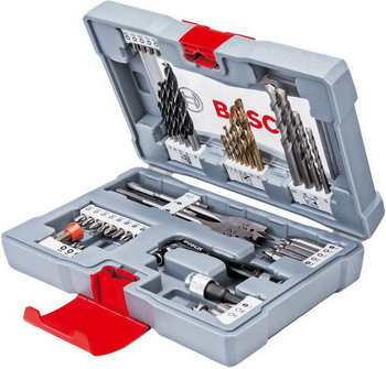 Набор бит и сверл Bosch Premium X-Line Set - 49 2608 P 00233 цена 2017