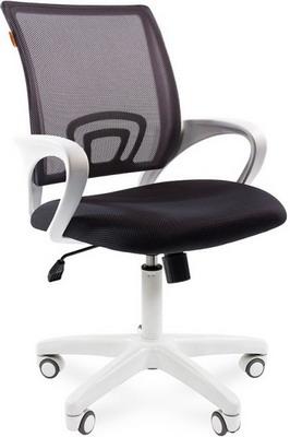 Кресло Chairman 696 белый пластик TW-12/TW-04 серый N