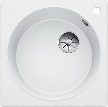 Кухонная мойка Blanco ARTAGO 6 белый с отводной арматурой InFino 521761 кухонная мойка blanco artago 6 серый беж с отводной арматурой infino 521764