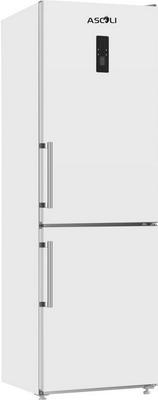 Двухкамерный холодильник Ascoli ADRFW 375 WE white однокамерный холодильник ascoli asli 340 we
