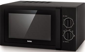 Микроволновая печь - СВЧ BBK 23 MWS-822 M/B черный цена и фото