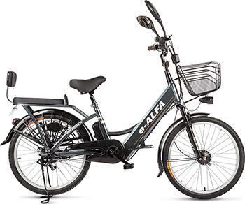 цена на Велогибрид Eltreco 010822-0245 e-ALFA dark grey