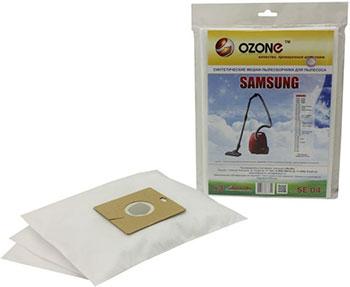 Мешки-пылесборники Ozone SE-04 синтетические для пылесоса 3 шт